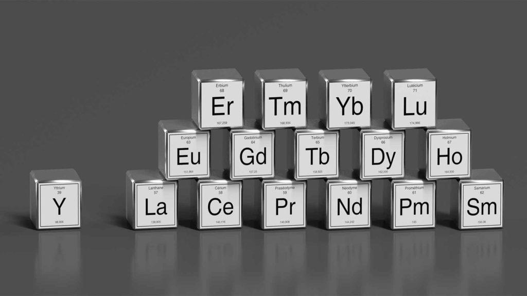 boron critical mineral rare earth