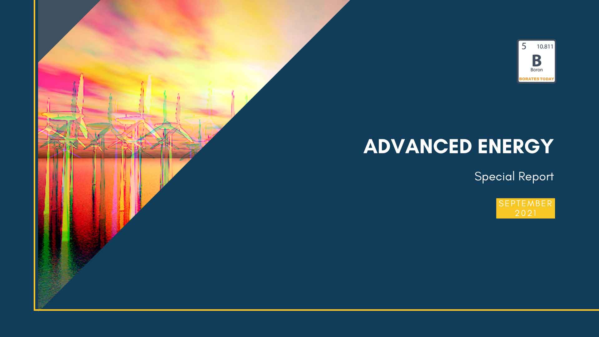 Boron Advanced Energy: Special Report